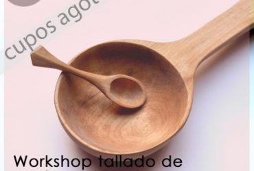 Tallado de cucharas en madera