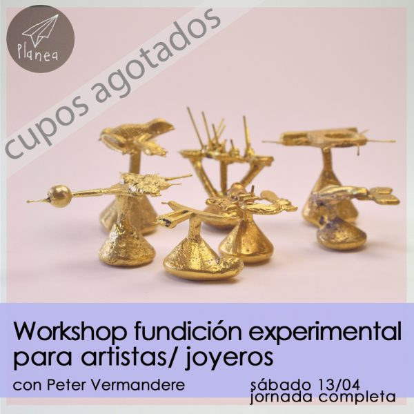 Taller de Fundición experimental para artistas/joyeros