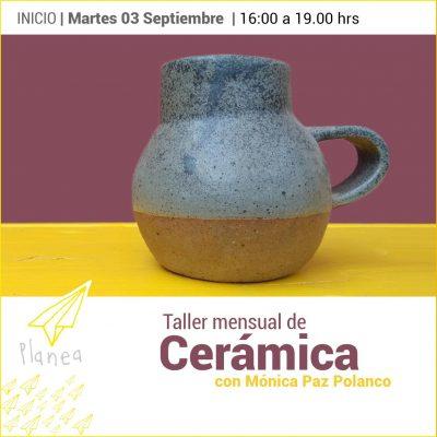 Taller cerámica martes